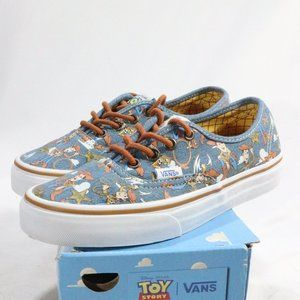 VANS Authentic Toy Story Woody True White Sneakers